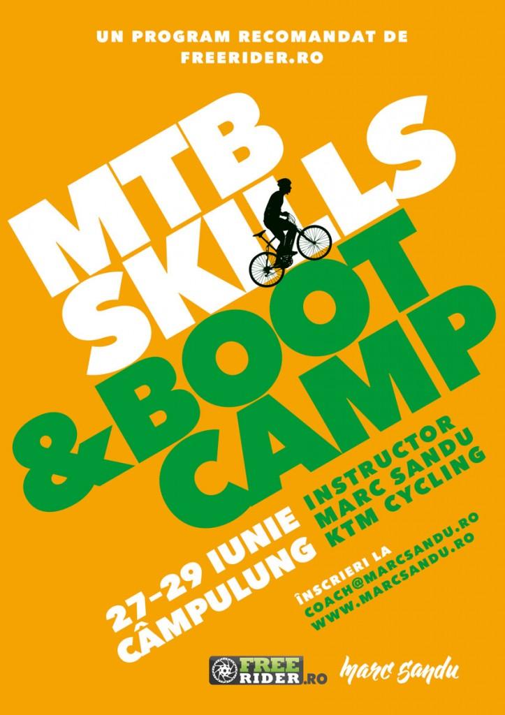 MTB Skills&Boot Camp, Campulung, 27 – 29 iunie, 2014