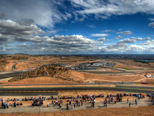 Motorland Aragon, locul in care se vor desfasura aplicatiile tehnice ale taberei de MTB.