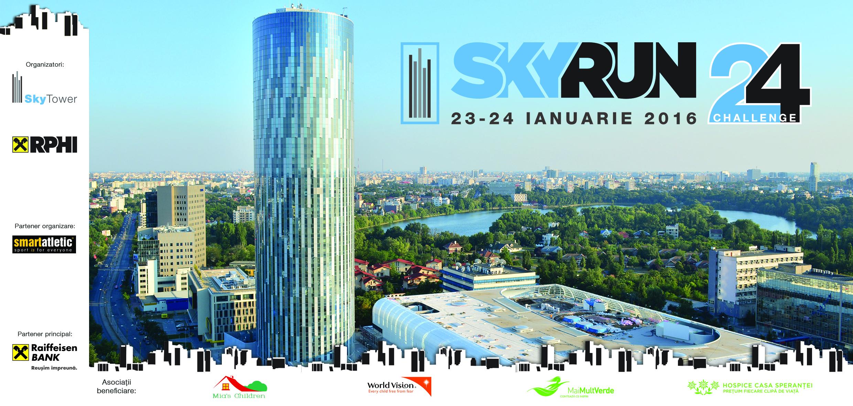 Invitatie la SkyRun 2016: Race You to the Top!