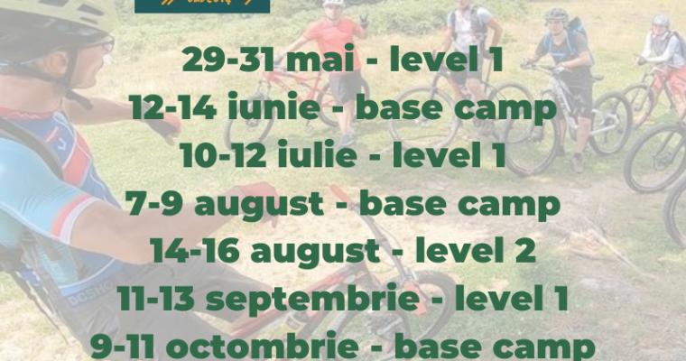 Șapte tabere de mountain-bike pentru sezonul șapte al MTB Skills and Boot Camp