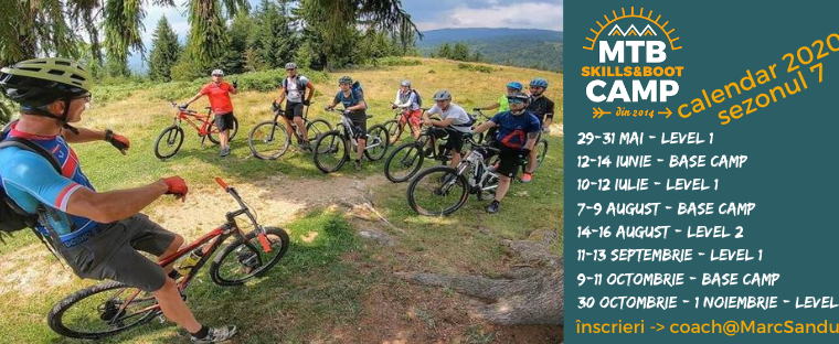 Tabere de mtb – MTB Skills and Boot CAMP