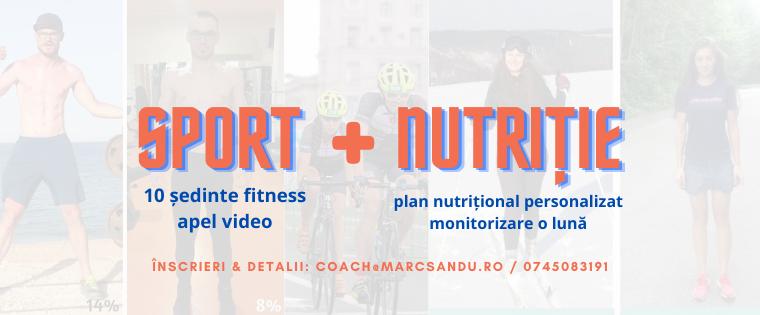 Program sport si nutritie