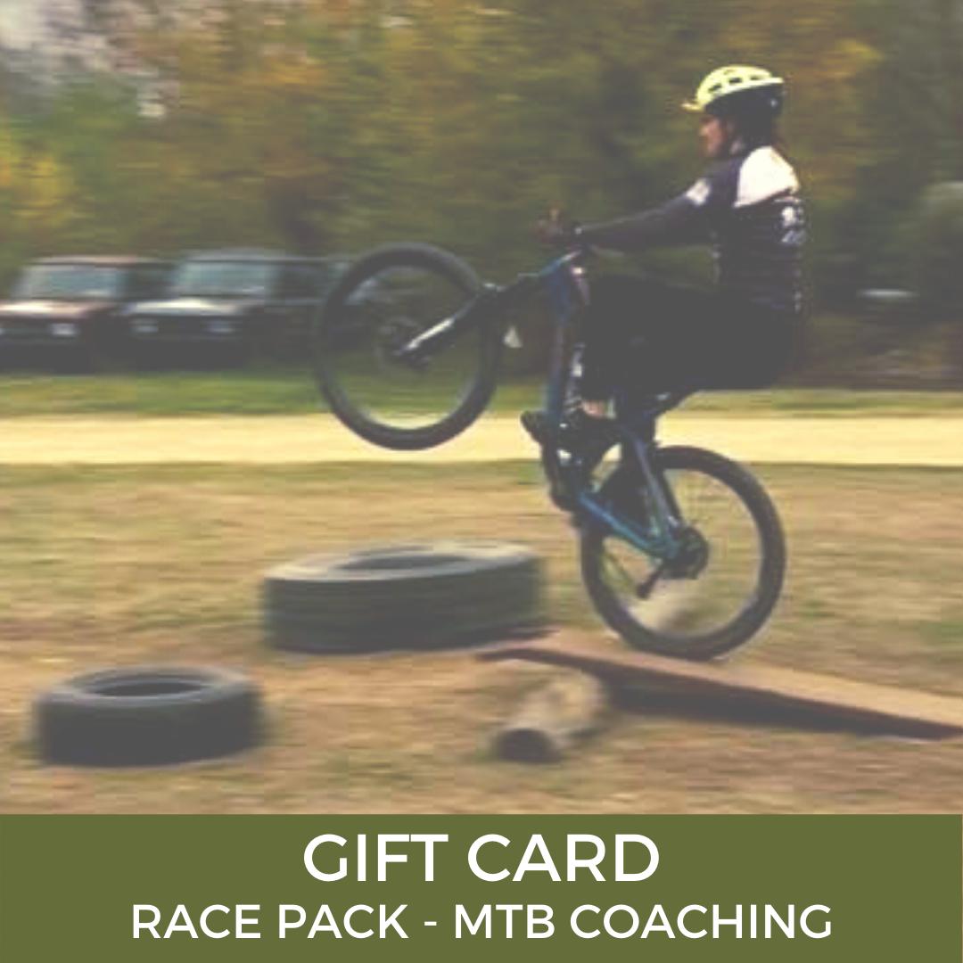 Gift Card Race Pack MTB Coaching