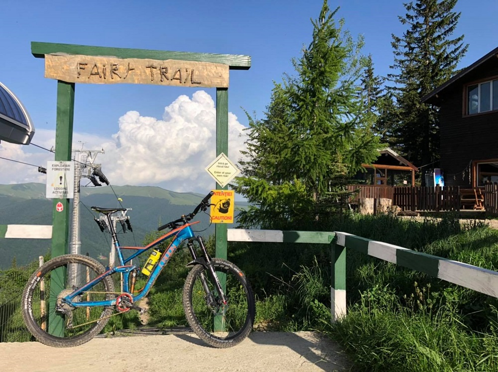 Prima tura din 2021 pe Fairy Trail de la Sinaia