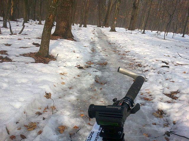 Amintiri de la Arges Winter Race 2012. MTB Ice Cream si incercari de antropologie ceferistica