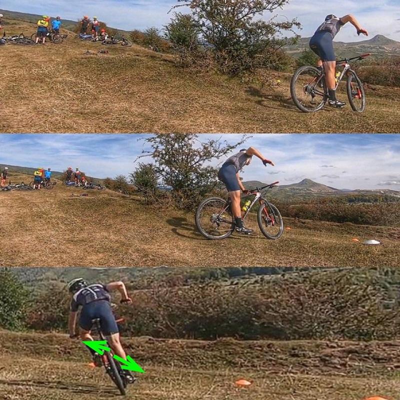 Tehnica abordarii unui viraj pe mountain bike